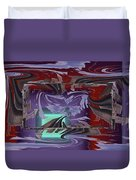 Dilemma At High Tide Duvet Cover