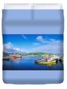 Dingle, Dingle Peninsula, Co Kerry Duvet Cover