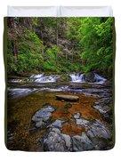 Dingmans Creek Duvet Cover