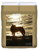 Dingo Sunset Duvet Cover