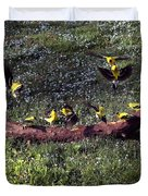Goldfinch Convention Duvet Cover