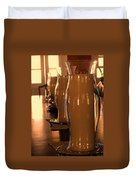 Dining Room Candles Duvet Cover