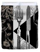 Dinner Conversation Duvet Cover