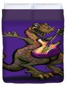 Dinorock Duvet Cover
