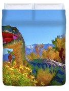 Dinosaur 7 Duvet Cover