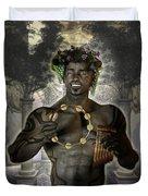 Dionysus God Of Grape Duvet Cover
