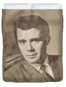 Dirk Bogarde, Vintage Actor By John Springfield Duvet Cover