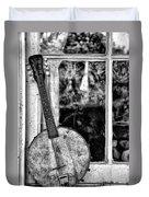 Dirty Banjo Mandolin Duvet Cover