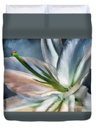 Dirty White Lily 2 Duvet Cover