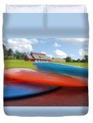Disc Golf In Auburn Duvet Cover