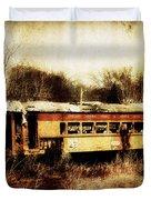 Discarded Train Duvet Cover