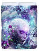 Discovering The Cosmic Consciousness Duvet Cover