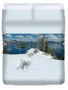 Discovery Point Panorama Duvet Cover