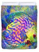 Discus Fish Duvet Cover