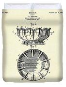 Dish-1900 Duvet Cover
