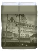 Disney World The Grand Floridian Resort Vintage Duvet Cover