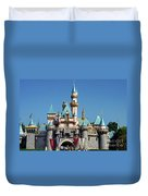 Disneyland Castle Duvet Cover