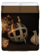 Disparate Objects 2 A Still Life Duvet Cover