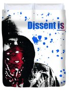 Dissent Is Patriotic Duvet Cover
