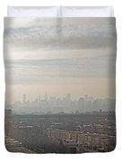 Distant City Duvet Cover