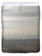 Distant City Duvet Cover