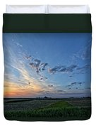 Distant Farm Duvet Cover
