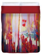 Distant Memory - A Semi Abstract Landscape Duvet Cover