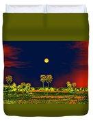 Distant Moon Desire Duvet Cover