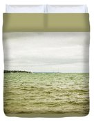 Distant Sails Duvet Cover