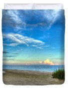 Distant Thunderhead Duvet Cover