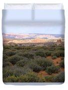 Distant View Duvet Cover