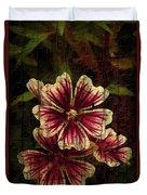 Distinctive Blossoms Duvet Cover