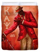 Distinguished Kappa Alpha Psi Duvet Cover