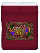 Distorted Dreams Duvet Cover