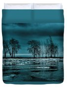 Distorted Reflections  Duvet Cover