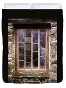 Disused Watermill Window Duvet Cover