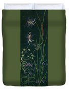 Ditchweed Fairy Cattails Duvet Cover