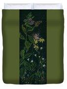 Ditchweed Fairy Milkweed Duvet Cover