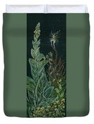 Ditchweed Fairy Mullein Duvet Cover