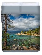 Divers Cove At Lake Tahoe Duvet Cover