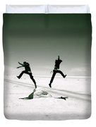 Divide And Conquer Duvet Cover