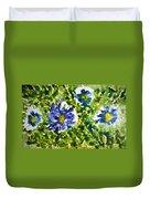 Divine Blooms-21165 Duvet Cover