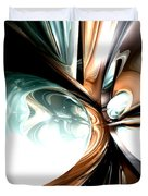 Divine Flavor Abstract Duvet Cover
