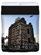 Divine Lorraine Hotel Duvet Cover by Bill Cannon