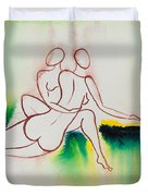 Divine Love Series No. 2090 Duvet Cover