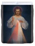 Divine Mercy Duvet Cover