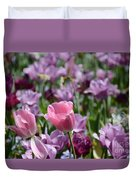 Divine Tulip Display Duvet Cover
