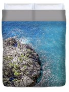 Diving In Italy Duvet Cover