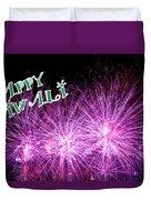 Diwali Greetings Card Duvet Cover
