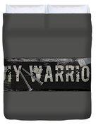 Diy Warrior Duvet Cover